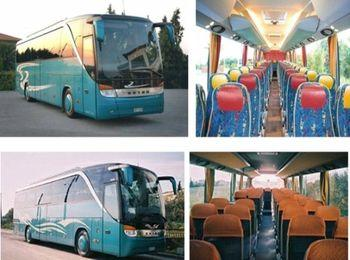 От аэропорта до города можно добраться на автобусе