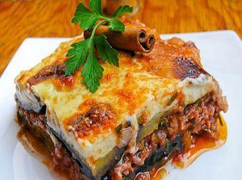 знаменитое греческое блюдо Мусака