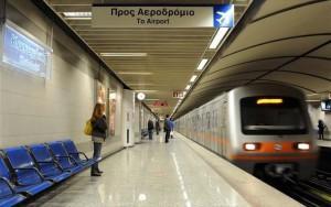 Поезд афинского метро