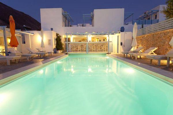 Трехзвездочный Amelie Hotel Santorini