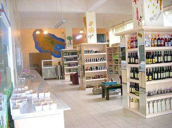 Магазин сладостей и вина