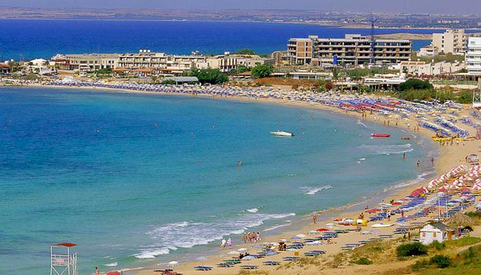 Пятикилометровый пляж Иксии