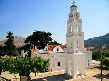 Достопримечательности острова Родос: монастырь Цамбика