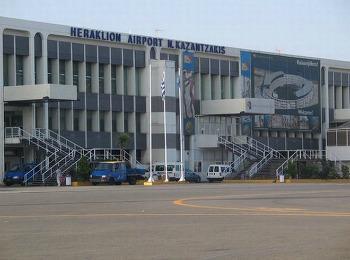 Аэропорты острова Крит: Ираклион, аэропорт Никоса Казандзакиса