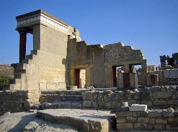 Кносский дворец острова Крит