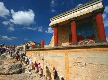 Кносский дворец на Крите, Греция