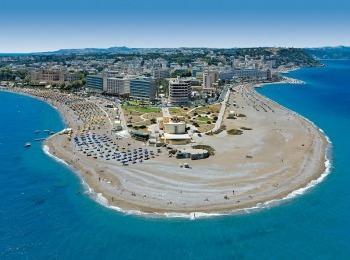 Чистейшие пляжи острова Родос