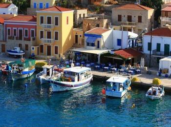 Живописные виды греческих островов