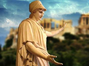 Мудрая правительница Афин - богиня Афина