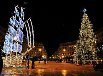 Площадь Аристотеля в Салониках
