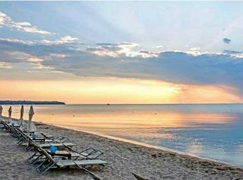 Городской пляж в Салониках