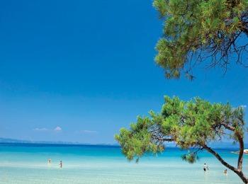 Июнь в Халкидиках в Греции