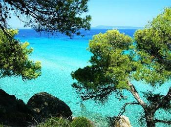 Полуостров Халкидики в Греции