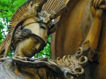 Богиня Древней Греции Афина-воительница