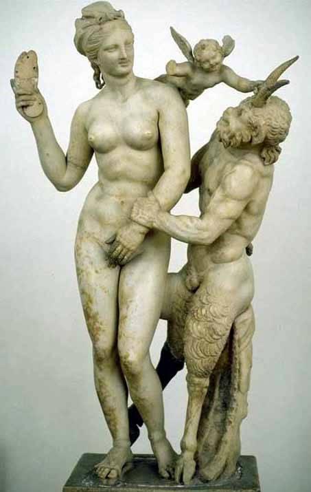 Скульптура Афродиты - богини красоты и любви