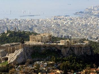 Так выглядит легендарный античный храм Парфенон сегодня