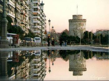 Символ столицы Северной Греции города Салоники - Белая Башня