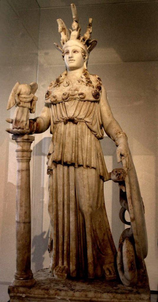 Копия знаменитой статуи Афины