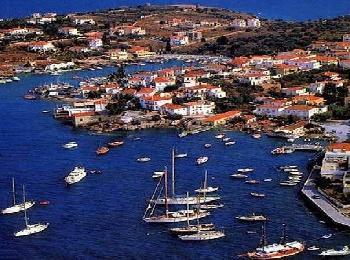 Остров Спеце, Греция
