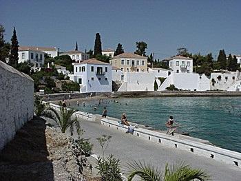 Монастырь святого Николая, остров Спецес, Греция