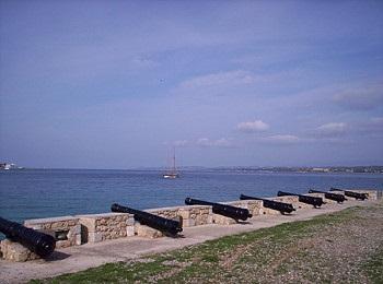 Орудийная батарея острова Спецес, Греция