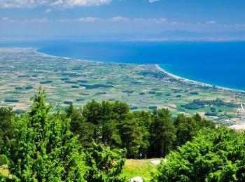 Июнь в Хадкидиках, Греция