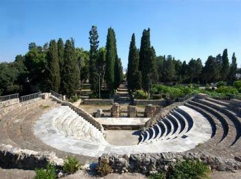 Древнеримский Одеон города Кос, остров Кос, Греция