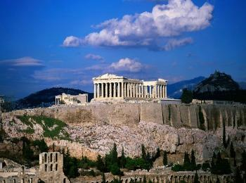 Парфенон, гора Акрополь, Афины, Греция