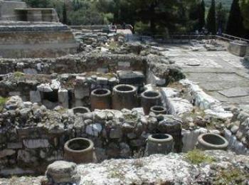 Развалины Кносского дворца, Крит, Греция