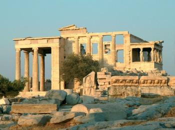 Эрехтейон, Акрополь, Афины, Греция