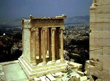 Храм Ники, Афины, Греция