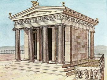 Храм Ники Аптерос, Акрополь, Греция