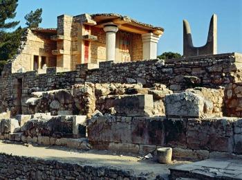 Кносский дворец, Крит, Греция