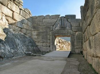 Львиные ворота в микенах доклад 6595
