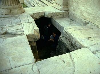 Могила Кекропа, Акрополь, Афина, Греция