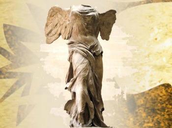 Крылатая вестница победы - богиня Ника