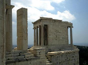 Храм Ники Аптерос, Акрополь, Афины