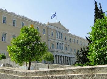 Здание греческого парламента, Афины, Греция
