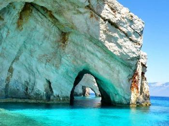 Голубые пещеры острова Закинфа, Греция