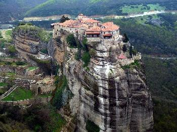 Монастырь святого Варлаама, Метеоры, Греция