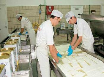Производство сыра Фета, Греция
