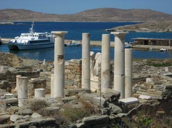 Священный остров Делос, Греция