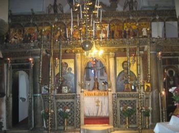 Иконостас церкви Панагия Епископи, Санторини