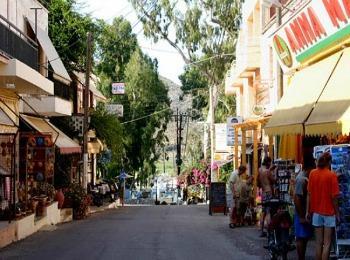 Поселок Георгиоуполис, Крит, Греция