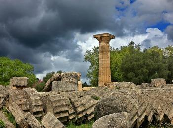 Храм Зевса в Олимпии, Греция