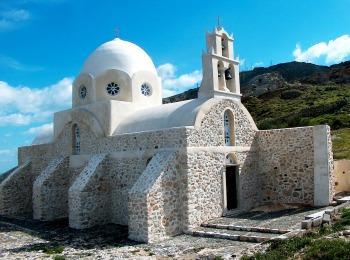 Монастырь Ильи Пророка, Санторини, Греция