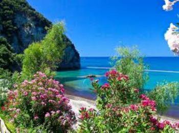 Лето на Корфу, Греция