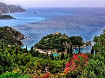 Август на Корфу, Греция