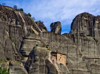 Монастырь Николая Анапавсаса, Метеоры, Греция