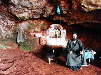 Афонские монахи, Греция